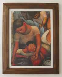 Diego Rivera Framed Prints