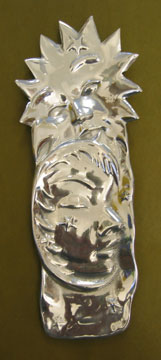 Mexican Pewter - Sun and Moon Spoon Rest