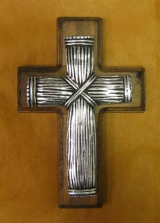 Mexican Pewter - Cane Cross
